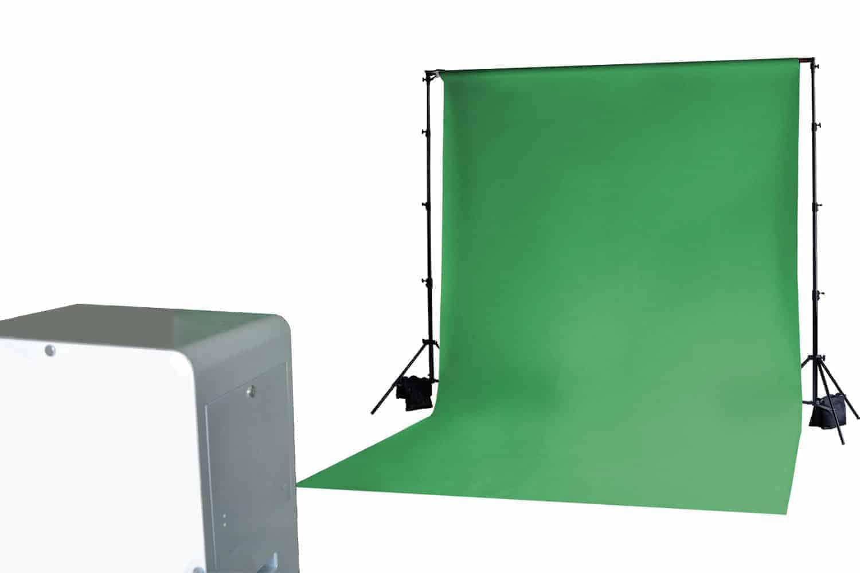 Location de Fond Vert pour des incrustations d'image
